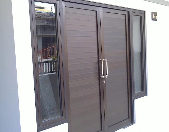 gambar pintu rumah minimalis buka dua