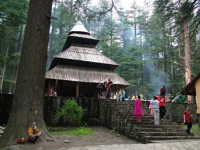 hadimba mandir Manali himachal Pradesh