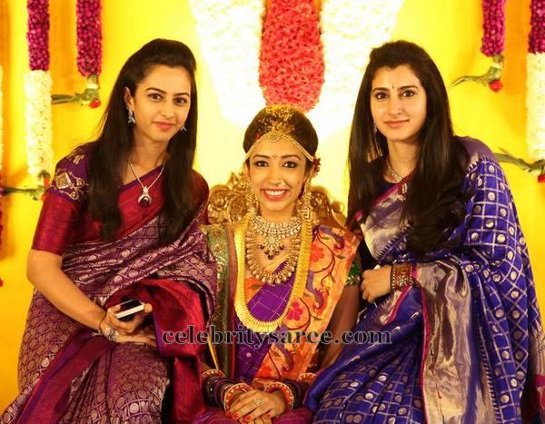 Nandamuri Sisters in Benaras Sarees