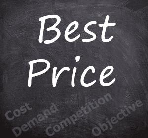 Factors determining price of product