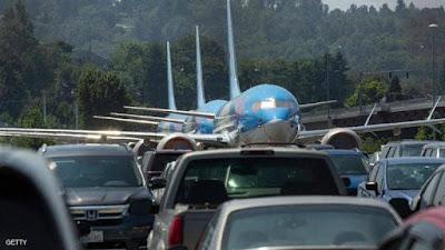 طائرات بوينغ, 737ماكس, حظر الطيران, كوارث جوية,