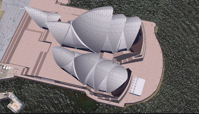 Sydney Opera House on Google Earth