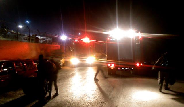 Νύχτα χάους στη Μυτιλήνη - Ξύλο μεταξύ μεταναστών με τραυματίες (βίντεο)