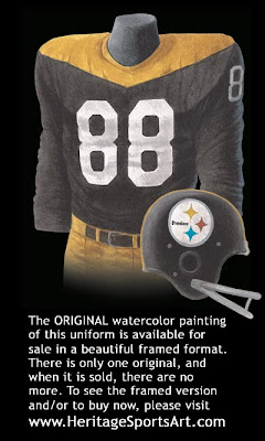Pittsburgh Steelers 1967 uniform
