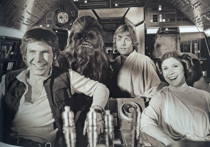 star wars foto dal set