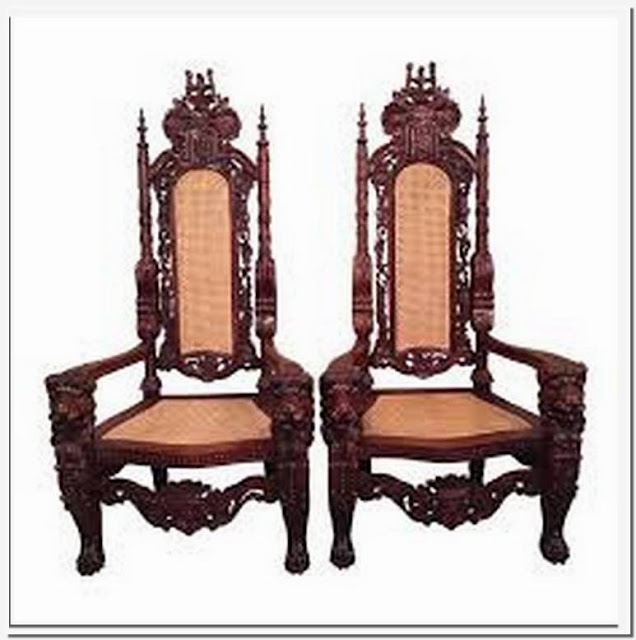 - Antique King And Queen Chairs For Sale
