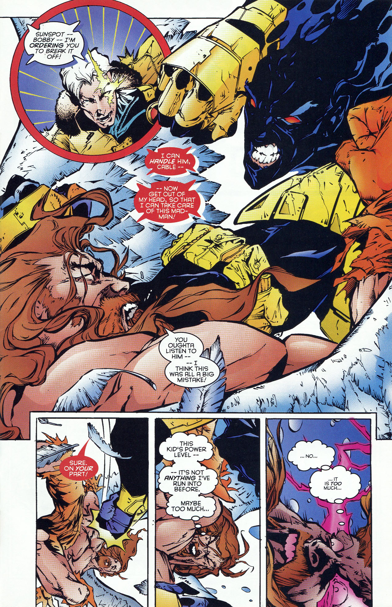 Read online X-Force (1991) comic -  Issue #46 - 19