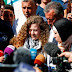 Ahed Tamimi, the Palestinian girl who slapped Israeli soldiers, was released