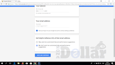 How to Register Google Adsense from Scratch
