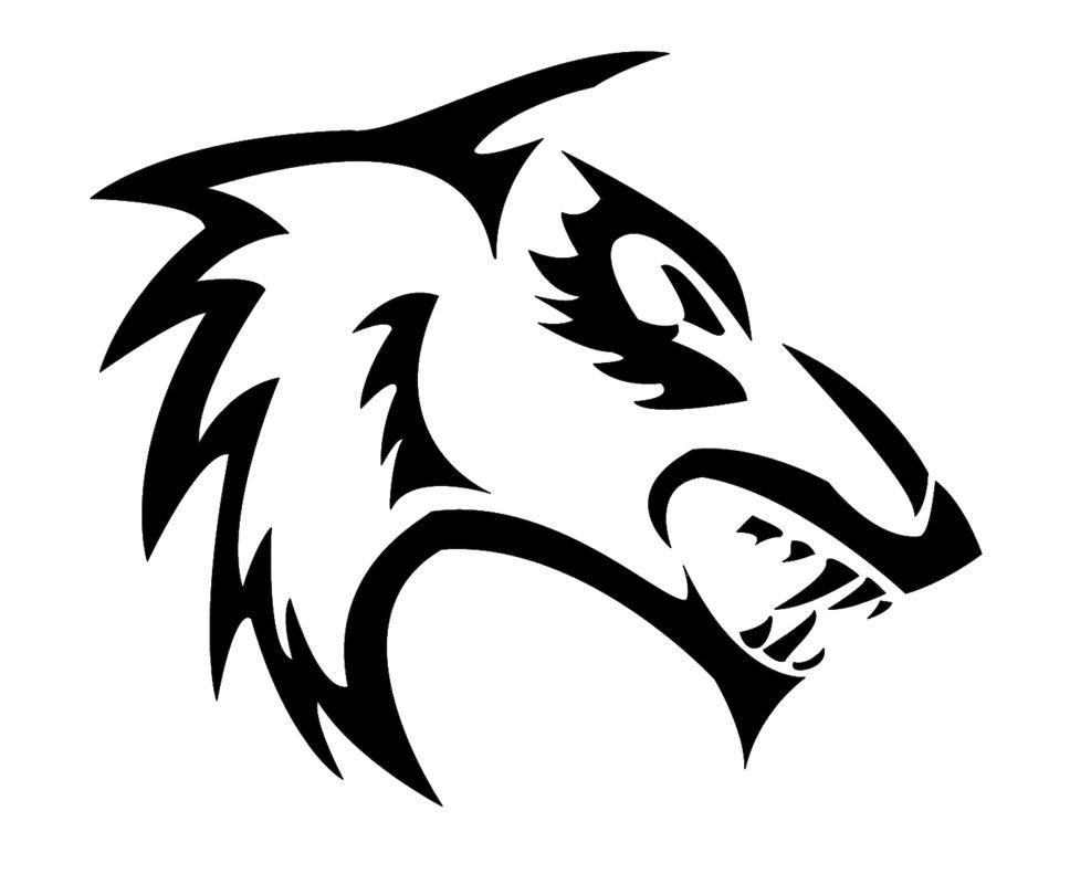 Easy Tribal Wolf Drawings