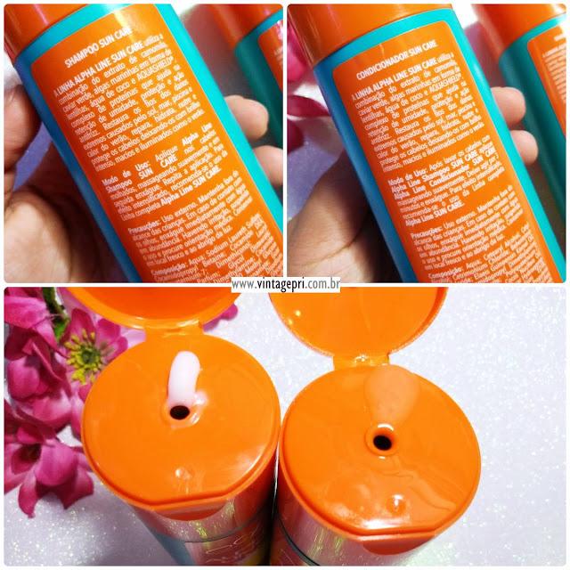 #Testei: Shampoo e Condicionador Sun Care (Alpha Line Cosméticos)