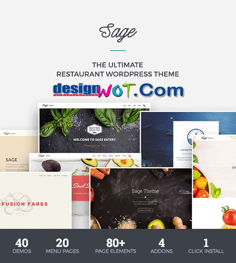 Sage - Premium Restaurant WordPress Theme