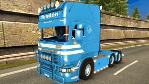 Scania R730 Tenden truck mod