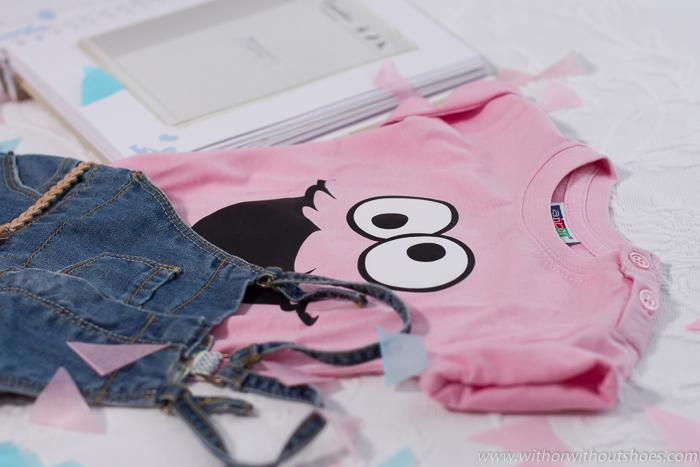 Blogger española embarazada muestra regalos colonia Zara, ropa y libro del bebe