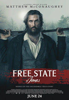 Free State of Jones, 2016, war, Action, Biography, Drama, Gary Ross, Matthew McConaughey, Gugu Mbatha-Raw, Keri Russell, Mahershala Ali, Brian Lee Franklin, Jacob Lofland, Brad Carter, Sean Bridgers, Kirk Bovill, Christopher Berry, Donald Watkins, Artrial Clark, Manny Penton, Newton Knight, Rachel Knight, Serena Knight, Moses Washington, Davis Knight, Daniel, Lieutenant Barbour, Sumrall, Merchant, Jasper Collins, Wilson, Eli, Jones County, Mississippi, Confederate Army, Civil War, Sinopsis, synopsis, cerita, durasi, film, movie, review, image, stills, picture, photo, foto, gambar, Indonesia, rorypnm, Copyright Murray Close/STX Productions
