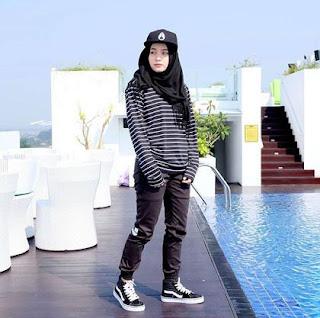 Baju Muslim Simpel Tomboy
