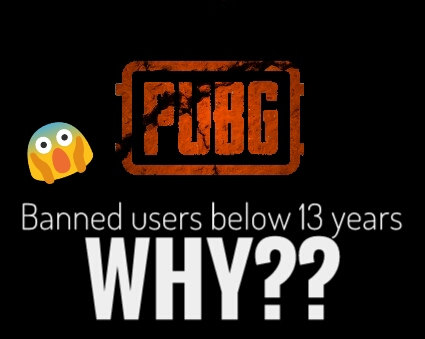 PUBG banned users below 13 years in China