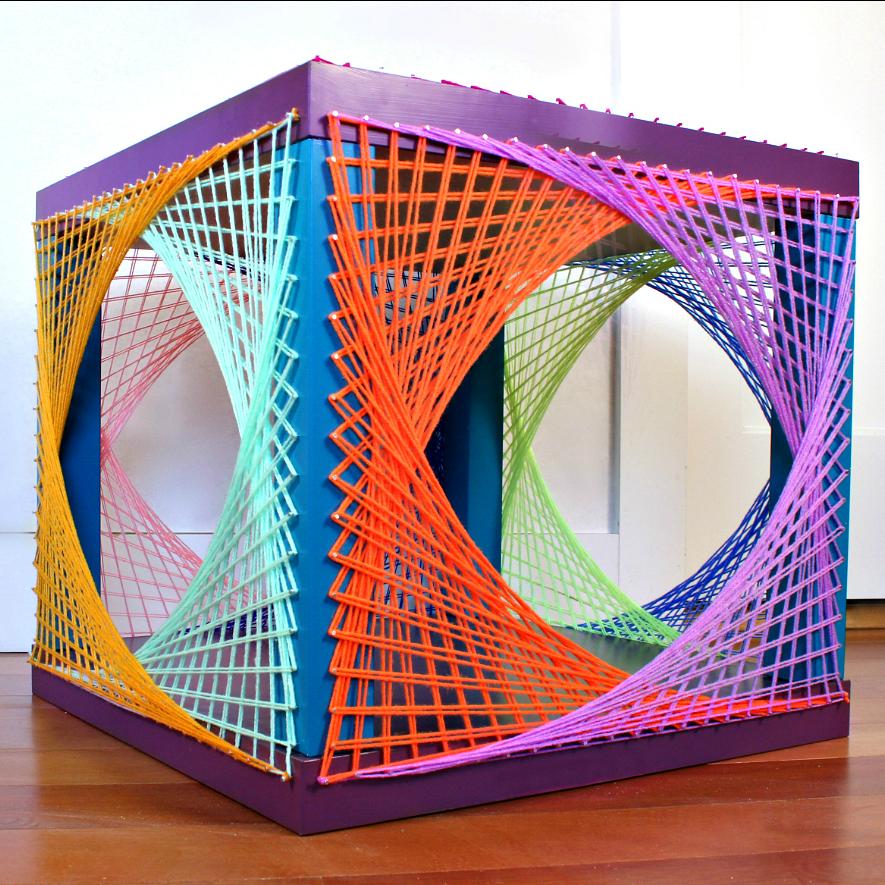 Mark Montano Ikea Hack String Art Table