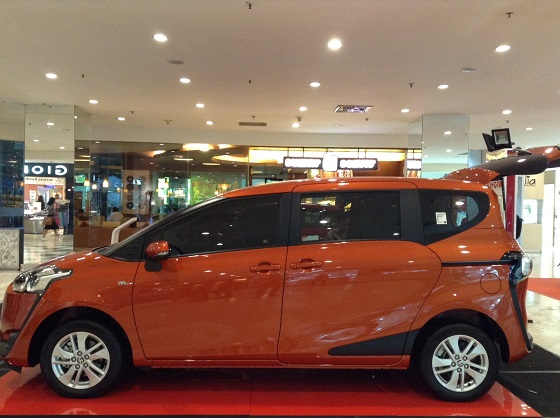 all new sienta orange