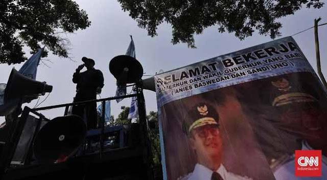 Buruh Minta Anies-Sandi Perbaiki UMP yang Hancur karena Ahok