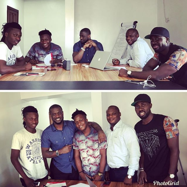Mr P Signs New Artiste To Pclassic Records