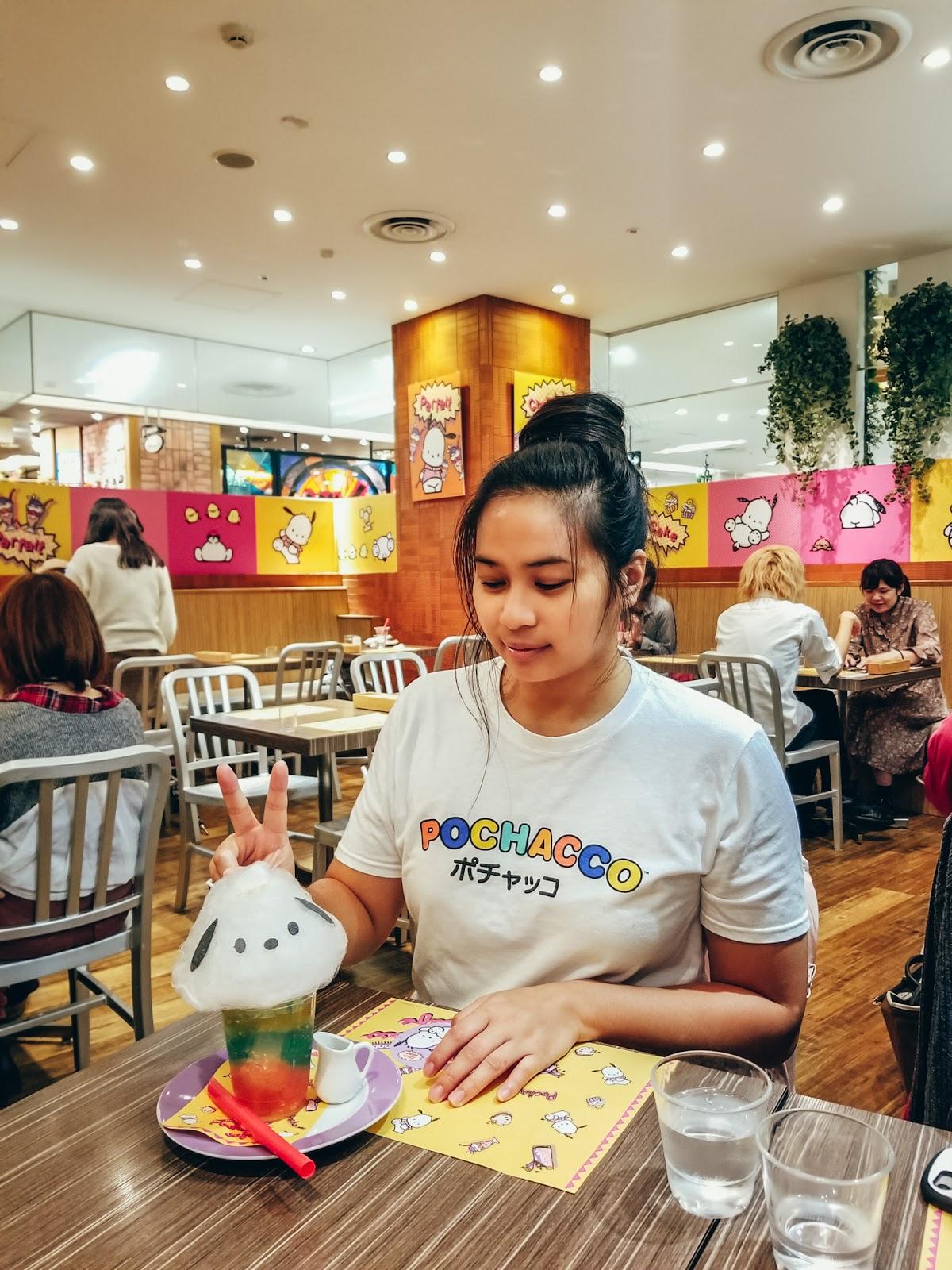 japan tokyo sanrio kawaii seibu ikebukuro seattle foodie blogger