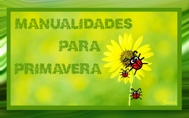Actividades Para Educacion Infantil Manualidades Primavera 2013