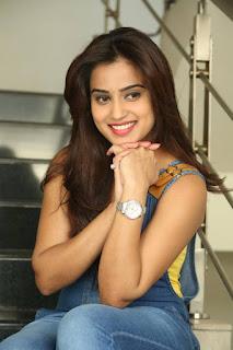 Actress Dimple Chopade Latest Pictures in Jumpsuit at Krishnashtami Success Meet  0041