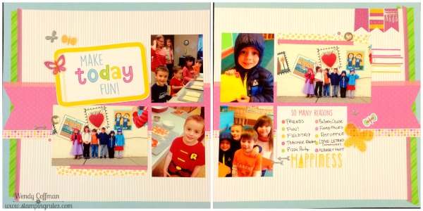 Stamping Rules!: Day 354: Penelope WYW Make Today Fun Layout