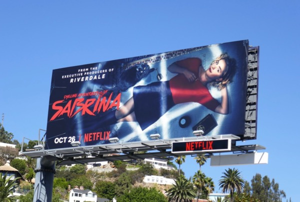 Chilling Adventures of Sabrina series billboard