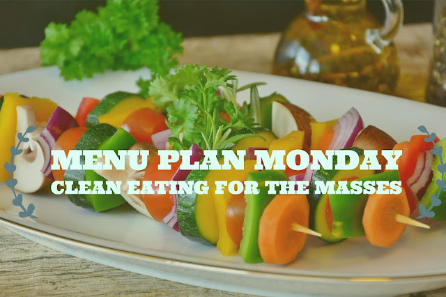 A plate of a veggie kabob