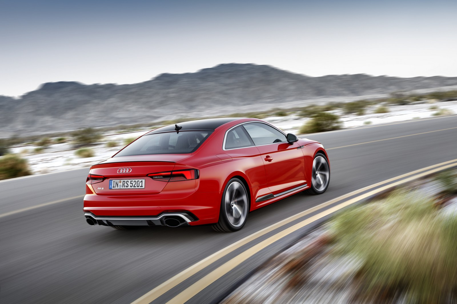 audi rs5 coupe is even faster than what the company claims carscoops. Black Bedroom Furniture Sets. Home Design Ideas