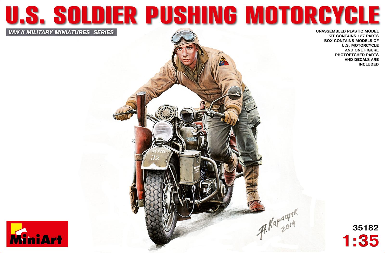 1:35 Italeri 322 US Motorcycles