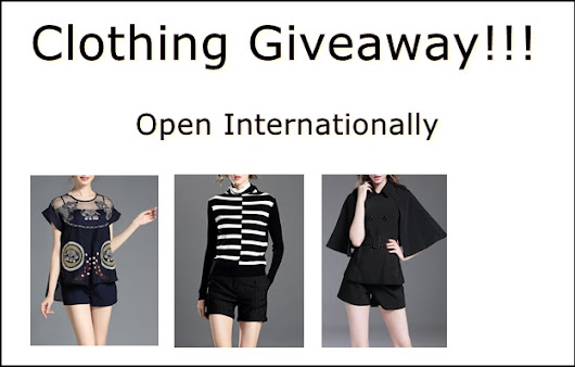Clothing Giveaway!!! |                                                                                          Shizasblog
