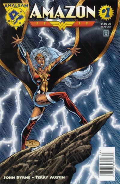 Comic Book Fan And Lover Amazon Amalgam Comics