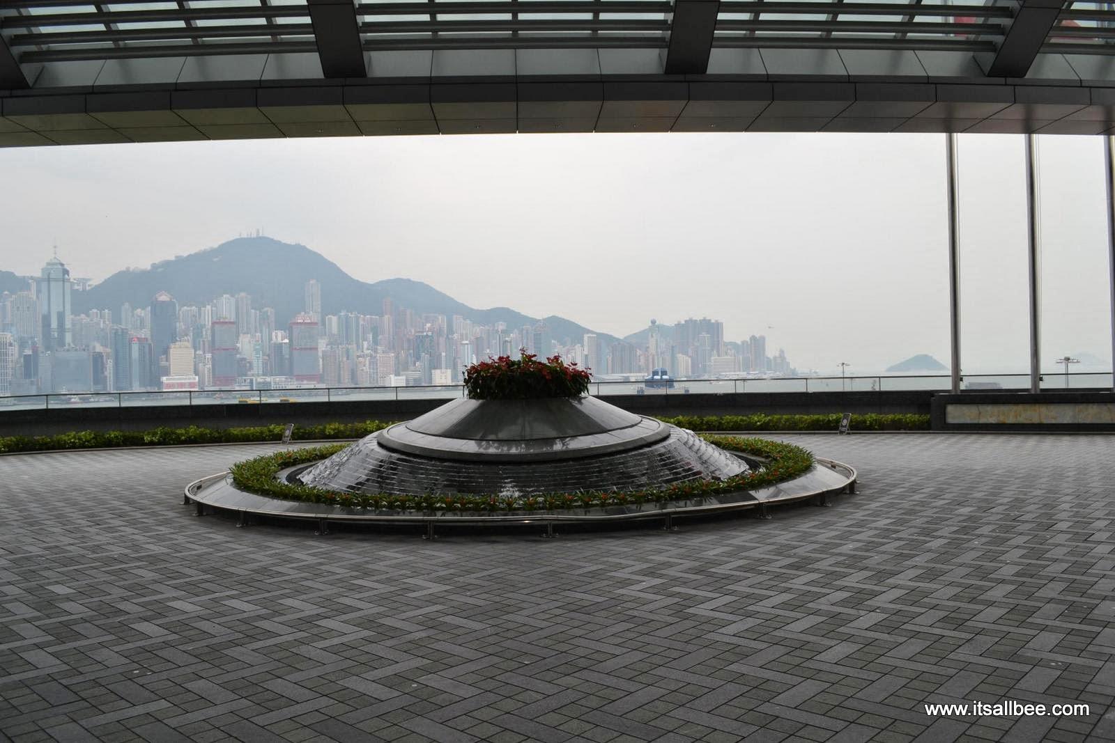 Hong Kong: Lunch Date at Ritz Carlton CAFE 101