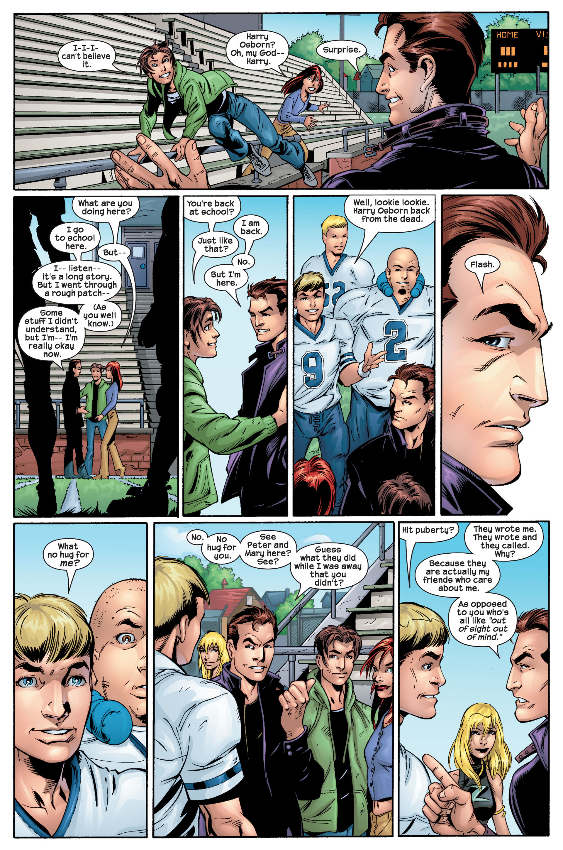 Read online Ultimate Spider-Man (2000) comic -  Issue #22 - 19