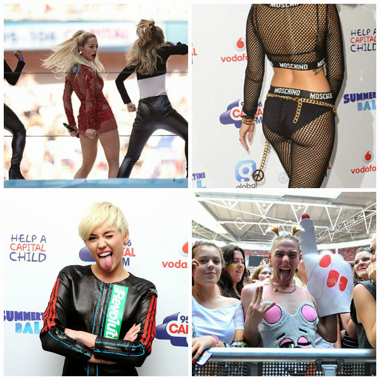All the Action from Capital FM's Summertime Ball 2014