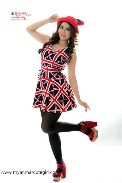 Cute Actress & Model- Thun Sett