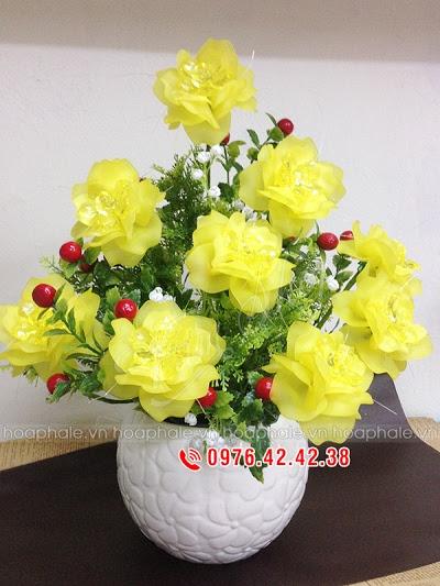 Hoa da pha le o Truong Dinh