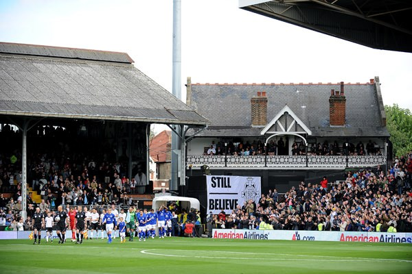 vestuarios Craven Cottage