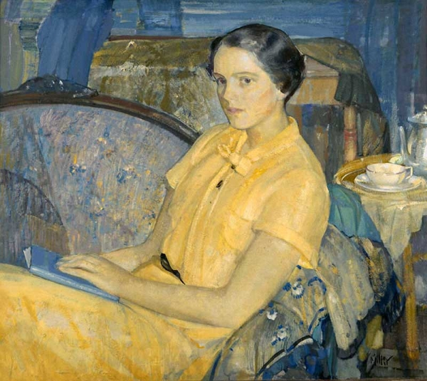 Richard Edward Miller - Portrait of Shelia McManus