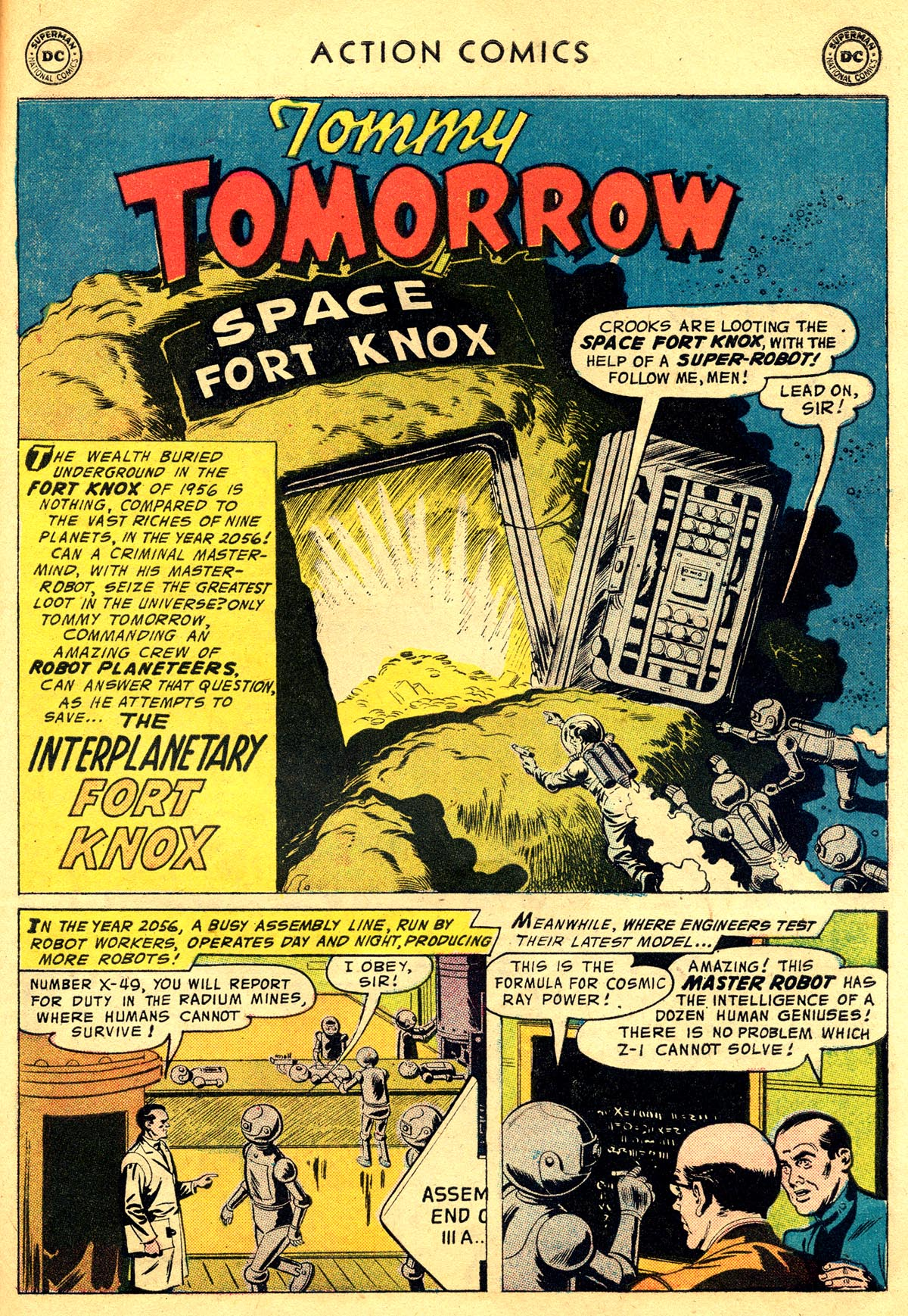 Read online Action Comics (1938) comic -  Issue #225 - 27