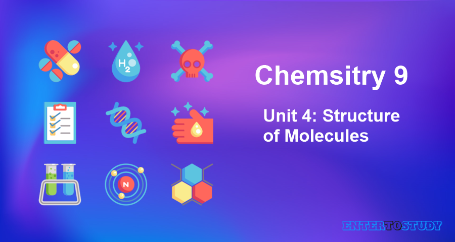 KIPS 9th Class Chemistry Notes Unit 4: Structure of Molecules