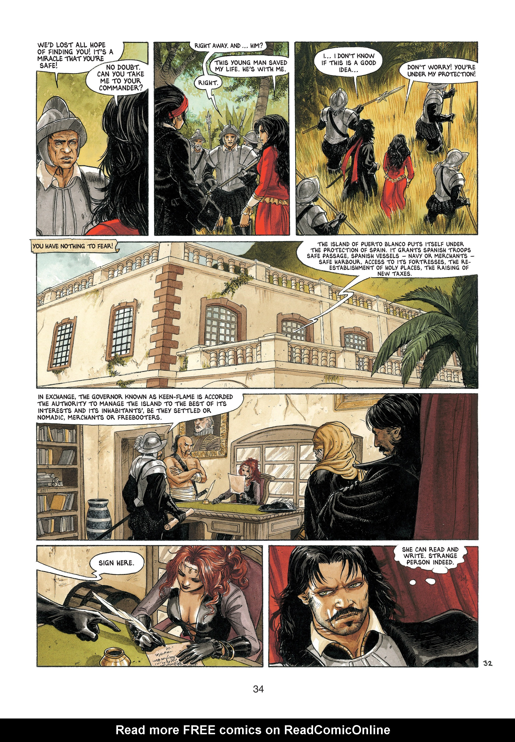 Read online Barracuda comic -  Issue #4 - 35