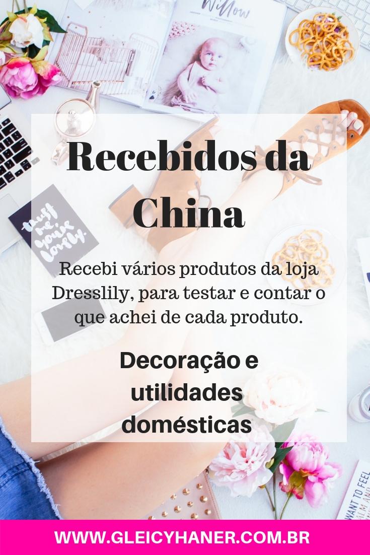 recebidos da china dresslily