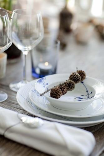 šišky na stole
