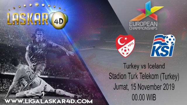 Prediksi  Pertandingan Bola Turkey vs Iceland 15 November 2019