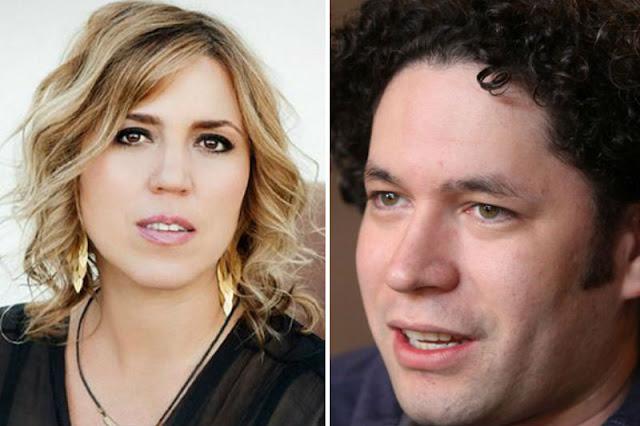 Gabriela Montero le dio hasta con el tobo a Dudamel por no denunciar a Maduro y arrastrarse ante el régimen