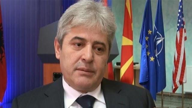 Ahmeti: Namensfrage mit Griechenland mit Freundschaftsvertrag lösen